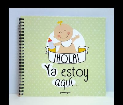 Álbum para bebé ¡Hola! Ya estoy aquí - 21A10040024