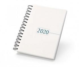 Agenda 2020 con anillas para incluir en portaagendas