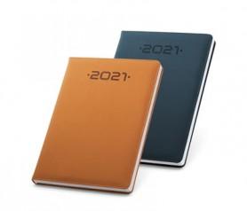 Agenda 2021 con tacto aterciopelado posibilidad de personalizarla para tu empresa