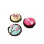 Bálsamos de labios muffins para detalles de boda
