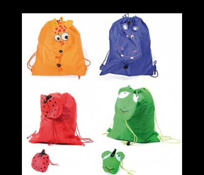 mochilas animales de colores para niños