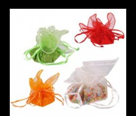 bolsitas de arroz de colores para bodas