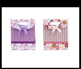 Bolsa de regalo & presentación con estampado de flores