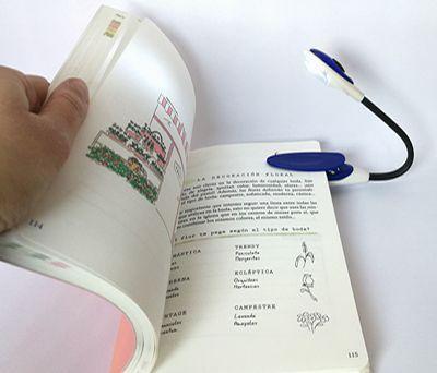 lámpara de lectura con luz led ideal para detalle de hombre.fw