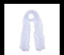 pañuelo blanco presentado en baul colorido de regalo