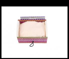 pañuelo presentado en baúl bambú de regalo