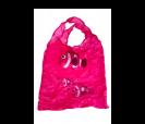 Bolsa plegable en forma pez en color rosa
