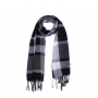 foulard moderno a cuadros para detalle de hombre