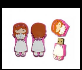 memoria USB de Comunión niña