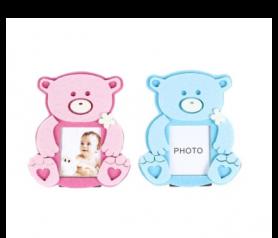 portafotos fieltro osito baby