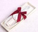 Cuchillo untador de mantequilla con mango tapón como detalle para los invitados de bodas o eventos