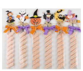 Pic Halloween con caramelos para detalles de invitados