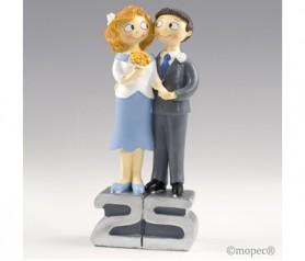 FIGURA DE NOVIOS 25 aniversario para la celebración de las bodas de plata