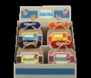 Expositor libretas tarro de mermeladas de sabore como detalle de boda, comunión o eventos para tus invitados