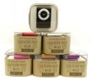 mp3 en caja con fajín personalizado, ideal para los invitados a la comunión