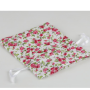 Bolsa Romántica flores rosas para detalles de invitados
