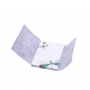 Bloc de notas estampado libélula por dentro retro ideal como detalle de boda o comunión para las mujeres invitadas al evento en 12 modelos surtidos