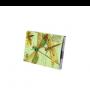 Bloc de notas estampado libélulas retro ideal como detalle de boda o comunión para las mujeres invitadas al evento en 12 modelos surtidos