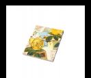Bloc de notas estampado floral  retro ideal como detalle de boda o comunión para las mujeres invitadas al evento surtidos en 12 modelos diferentes