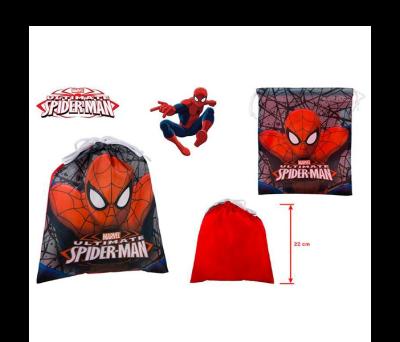 Petate mochila Spiderman ideal como detalle de comunión o en fiestas infantiles para los niños invitados al evento