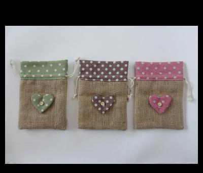 Bolsa de tela de saco envoltorios originales para detalles - Como decorar bolsas de papel ...
