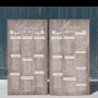 seatting plan doble de madera personalizada con el nombre de todos tus invitados. Encuentra tu sitio!!