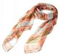 Original pañuelo en colores naranjas como detalle de boda para las mujeres invitadas