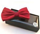 Pajarita en color rojo como detalle de boda o evento para los hombres
