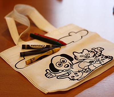 Pinturas con bolsa animales para colorear detalles infantiles para detalles de bautizos
