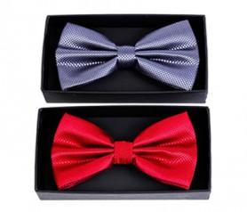 pajaritas roja y gris en caja de regalo detalle para eventos y bodas