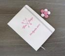Libreta de notas tipo moleskine personalizadas con tu logo, fecha o nombres para los invitados a bodas, comuniones