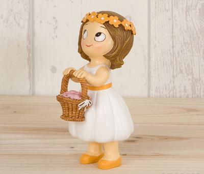 FIGURA PASTEL NIÑA o NIÑO como regalo para los pajes de la boda