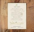 Invitaciones de boda madera estilo hipster