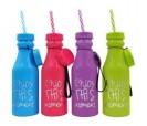 Botella pvc con la frase Enjoy this moment como detalle para las mujeres invitadas