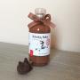 Licor de chocolate y cereza de Habelas Haylas como obsequio para los invitados de tu boda