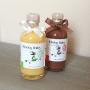 Licor de chocolate y cereza y de mandarina de Habelas Haylas