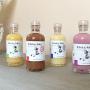 Licores de sabores para regalar a los hombres invitados a la boda