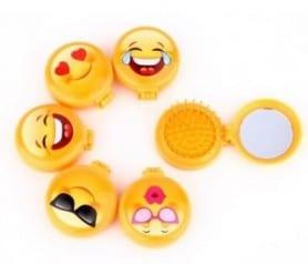 Cepillo espejo emoticono