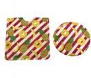 Espejo tropical con funda motivos piñas y plátanos como detalle para que tus invitadas vayan a la moda