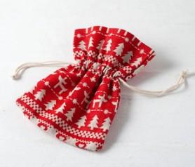 Bolsa navideña para tus regalos de navidad