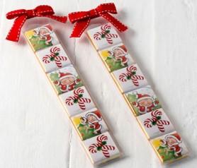 Chocolatinas navideñas como detalle para estas navidades