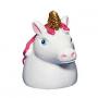 Original brillo de labios en forma de cabeza de unicornio
