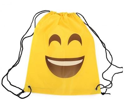 Mochila petate emoticono sonriente