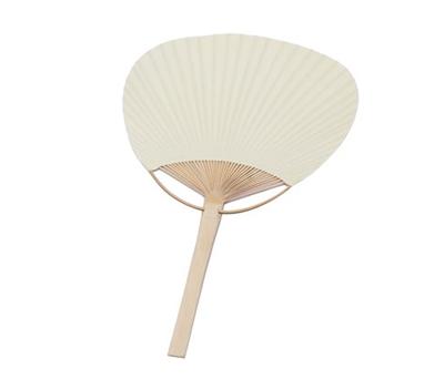 Pai pai bambú en color marfil como obsequio para los invitados de tu boda. Un complemento perfecto para las bodas de verano