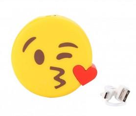 Power bank en forma de emoticono como detalle para los invitados de bodas, comuniones y eventos