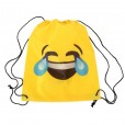 mochila petate emoticono carcajada como detalle para los niños de una comunión
