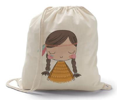 petate niña india como regalo para las niñas de la comunión
