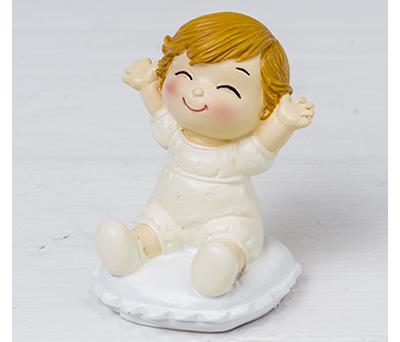 Figura bebé Pop &Fun sentado para complementar las figuras de bodas