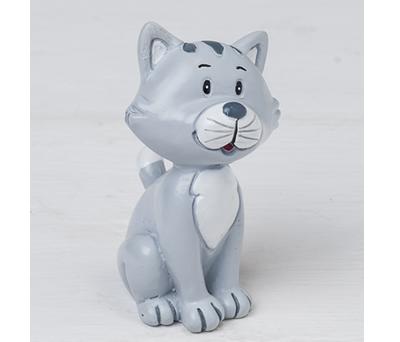 Figura gatito para incluir con la figura de novio y decorar la tarta nupcial o como regalo para los siguientes amigos en casarse