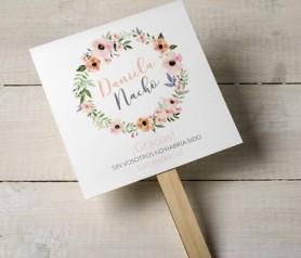 pai pai corona de flores personalizable como complemento en las bodas